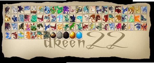dkeen22's Dragons