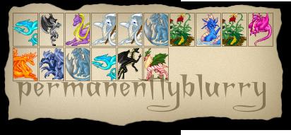 permanentlyblurry's Dragons